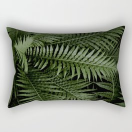 Tropical leaves 02 Rectangular Pillow