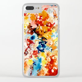 Cool Intense Clear iPhone Case