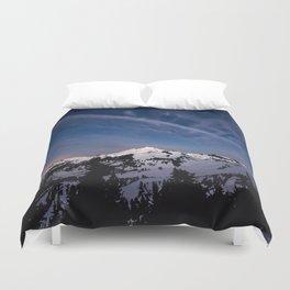 Mount Baker - Nature Photography Duvet Cover