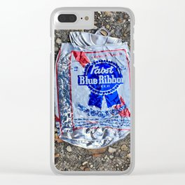 Pabst Smash Clear iPhone Case