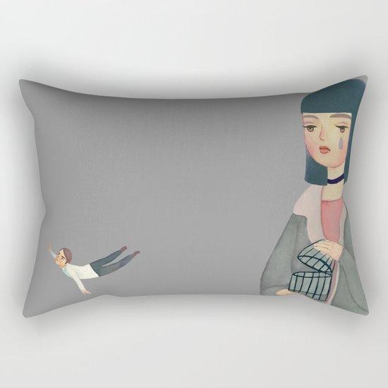 Hard to Let Go Rectangular Pillow