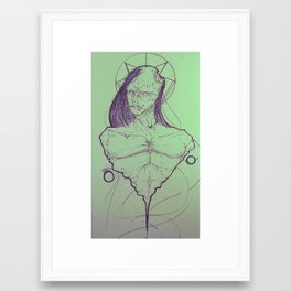 Necromancer Framed Art Print