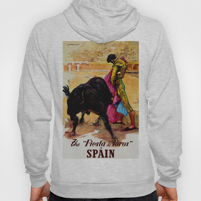 Fiesta de Toros in Spain Travel Hoody