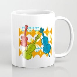 Sunny Grappelli String Jazz Trio Composition Coffee Mug
