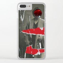 Wet Paint Clear iPhone Case