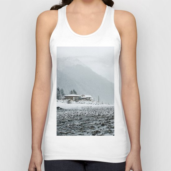 Snowy Valley Unisex Tank Top