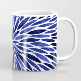 Navy Burst Coffee Mug