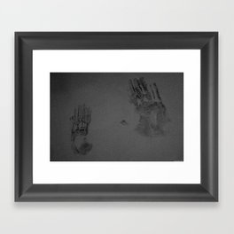 Invisible War Wounds Framed Art Print