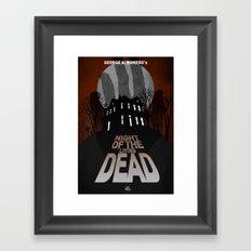 Night Of The Living Dead Framed Art Print