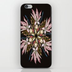 Flemish Floral Mandala iPhone & iPod Skin