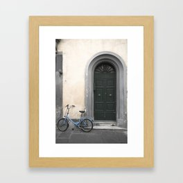 bicycles of Tuscany2 Framed Art Print