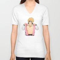 iwatobi V-neck T-shirts featuring Thug Seme by Kallian