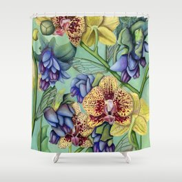 Lost Wing In Bloom Shower Curtain