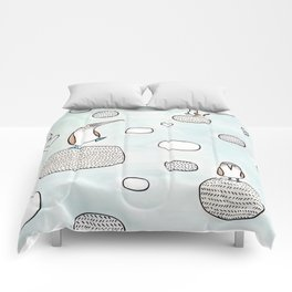 blue foot boody Comforters