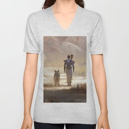Fallout video game Unisex V-Neck