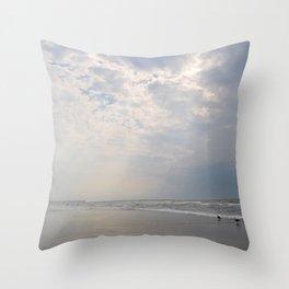 Cloudsplit Throw Pillow