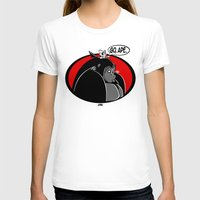 ape T-shirts featuring GO, APE by JVZ Designs