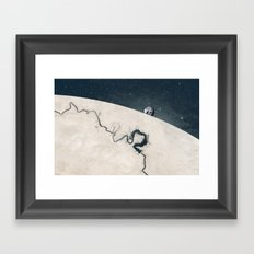 Hold On We're Coming Framed Art Print