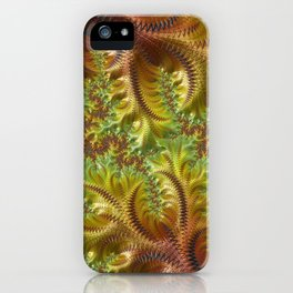 Fall Days - Fractal Art iPhone Case