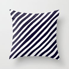 Uncharted Lines Throw Pillow