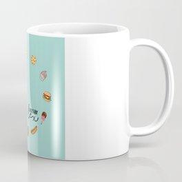 FOOD CLOCK Coffee Mug