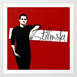 Team Human: Stilinski  Art Print