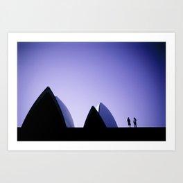 Sydney Opera House 1 Art Print