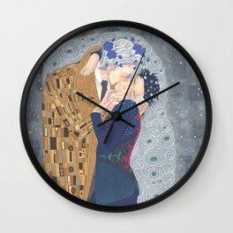Kiss on Ice Wall Clock