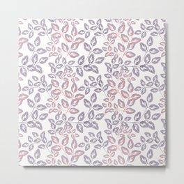 Delicate sprigs. Metal Print