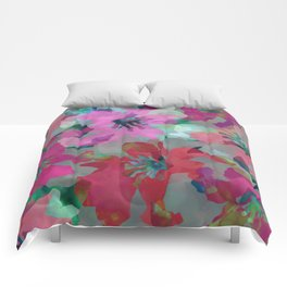 Lily Blooms Comforters