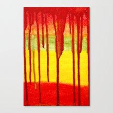 Bleed  Through Canvas Print