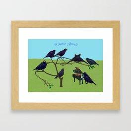 Concerto Grande Framed Art Print