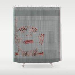 boris karloff Shower Curtain