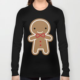 Cookie Cute Gingerbread Man Long Sleeve T-shirt