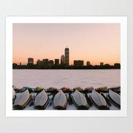 MIT Sailing Pavilion  Art Print