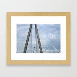 Charleston Arthur Ravenel Jr. Bridge Framed Art Print