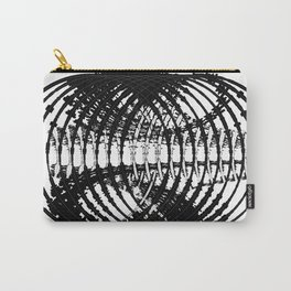 Downtown Circle Print Carry-All Pouch