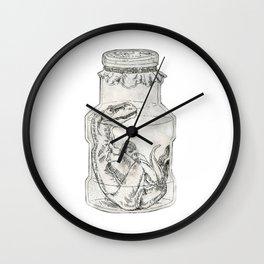 Dinosaurs! In jars! Wall Clock