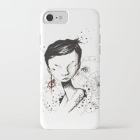 human iPhone & iPod Cases featuring Human by Ianah Maia