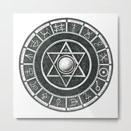 Alchemist's Seal Metal Print