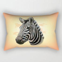 African Zebra Rectangular Pillow