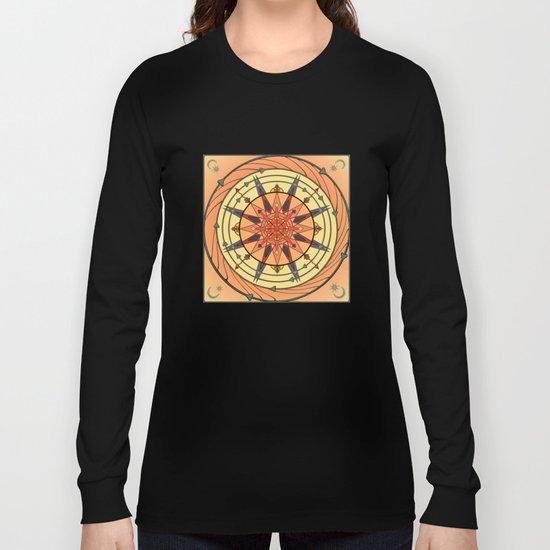 Radiating Sun Long Sleeve T-shirt