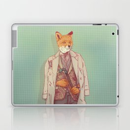 Jay the Fox Laptop & iPad Skin