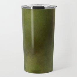 Green brown batic look Travel Mug
