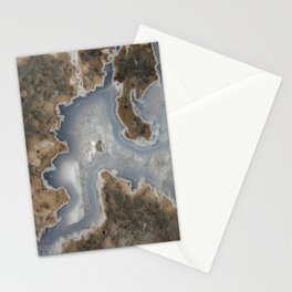 Abstract Rhyolite & Agate Stationery Cards