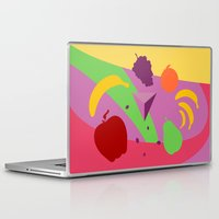 fruits Laptop & iPad Skins featuring Fruits by facebook.com/AAPP0
