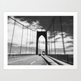Newport Bridge - Rhode Island Art Print