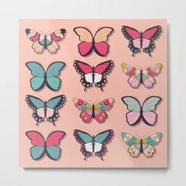 Butterflies collection 03 Metal Print
