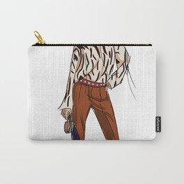 Diane Von Frustenberg fashion illustration Carry-All Pouch