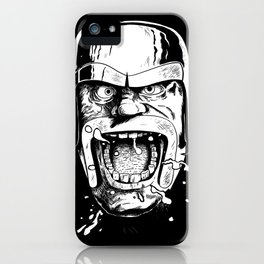 Barbarian Game Face iPhone Case